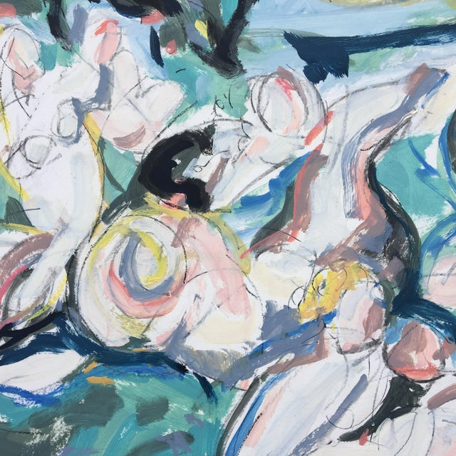 Pearl Fishers #4 Abstract Painting - Image 2 of 6