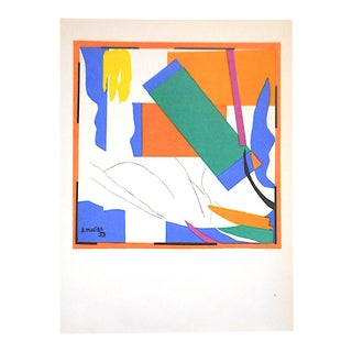 Vintage Mid 20th Century Color Lithograph-Henri Matisse For Sale