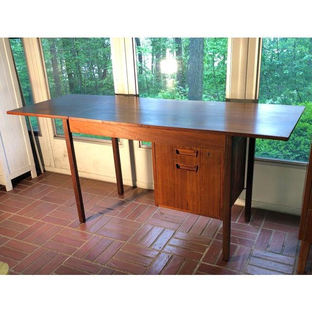 1960s 1960s Vintage Danish Modern Arne Vodder Desk For Sale - Image 5 of 9