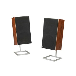 Pair of Vintage Bang & Olufsen Beovox S75 Speakers For Sale