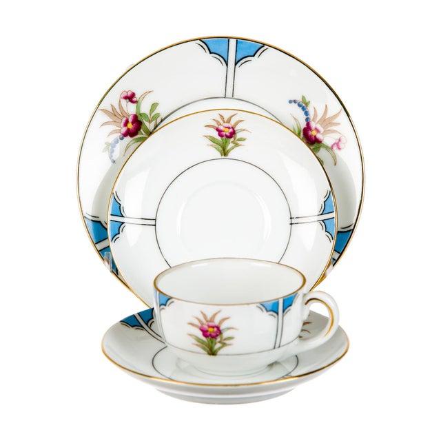 Noritake Late 18th Century Tableware Noritake Child's Tea Service - Set of 15 For Sale - Image 4 of 5
