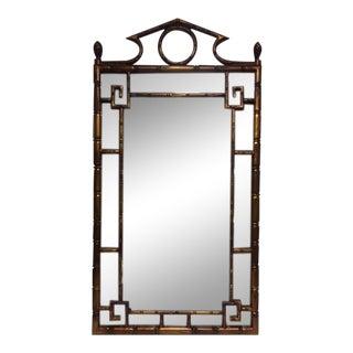 Weiman Asian Faux Bamboo Mirror