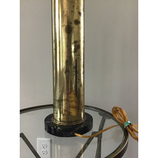 Trench Art Artillary Shell Brass Lamp For Sale In Charleston - Image 6 of 11