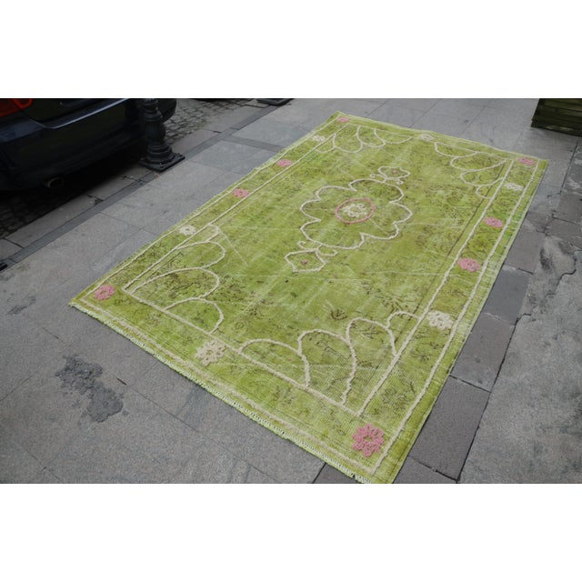 "Turkish Oushak Rug - 8'8"" x 5'5"" - Image 3 of 7"