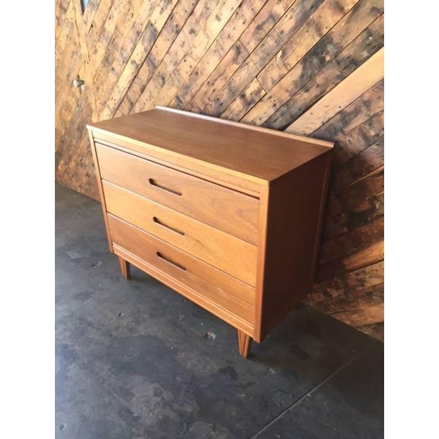 Mid-Century Refinished Mahogany Dresser - Image 6 of 7