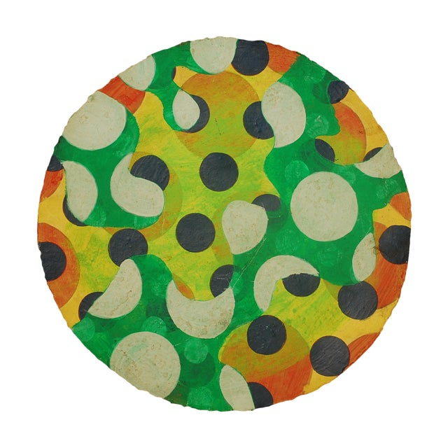 Tondo 1 Abstract Painting - Image 1 of 4