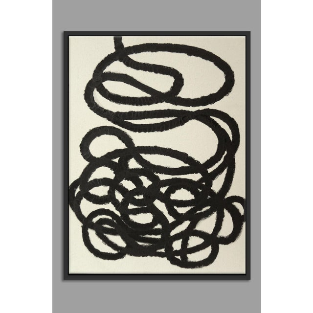"""""""Abstract Squiggle No. 2"""" Fine Art Giclée Print - Image 2 of 3"""