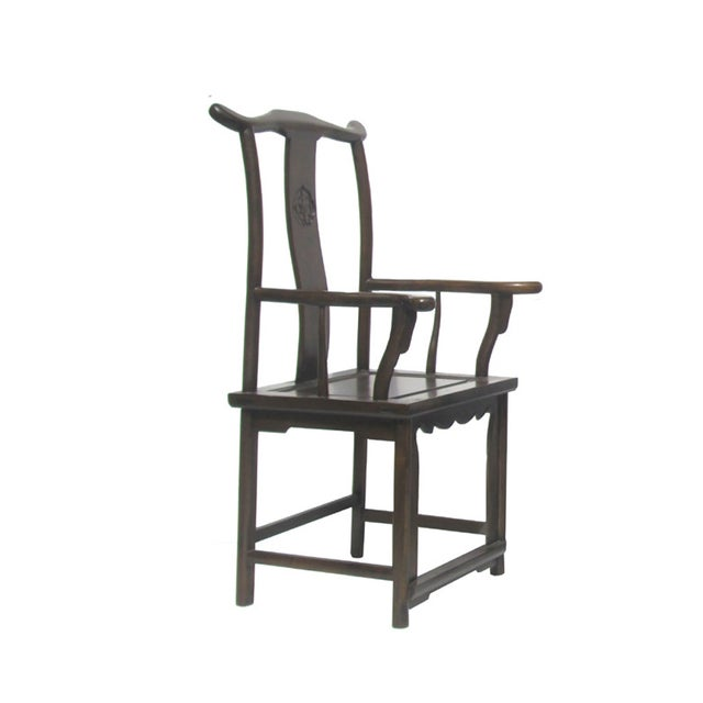 Tai Shi is a rank like prime minister in the old empire. this kind of chairs are called Tai Shi chairs because they are...