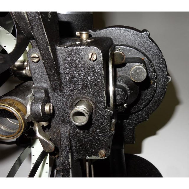 Rare First Model 16MM Cinema Movie Projector Circa 1923. Display As Sculpture. For Sale - Image 4 of 10