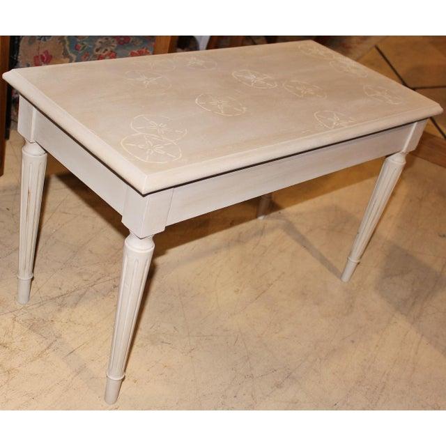 White Nautical Piano Bench Chairish