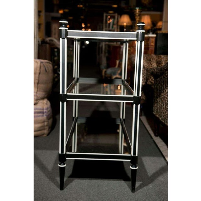 art deco three tier etagere chairish. Black Bedroom Furniture Sets. Home Design Ideas