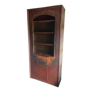 Antique French Kitchen Bookshelf For Sale