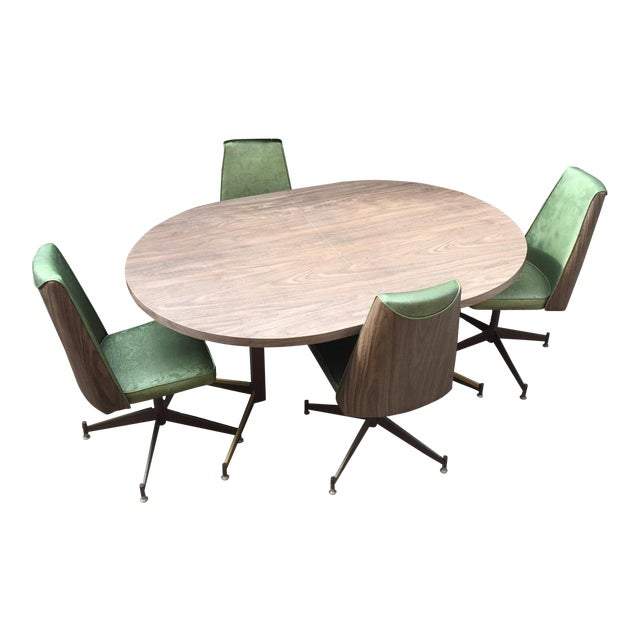 Mid-Century Modern Walter of Wabash Dining Set For Sale