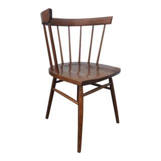 Nakashima Style Straight Back Spindle Chair