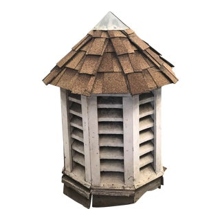 Cupola Garden Wooden House Top Decorative Piece