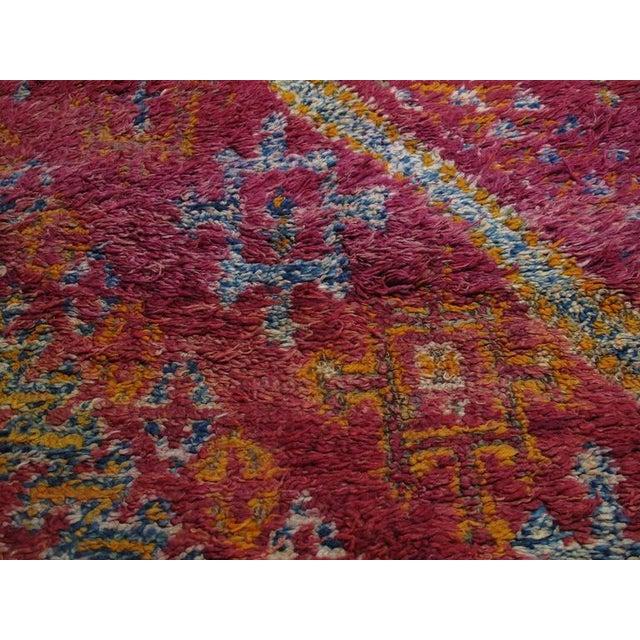Beni Mguild Moroccan Berber Carpet For Sale In New York - Image 6 of 10