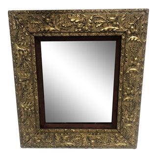 1930s Gilded Carved Acorn & Oak Leaf Frame For Sale