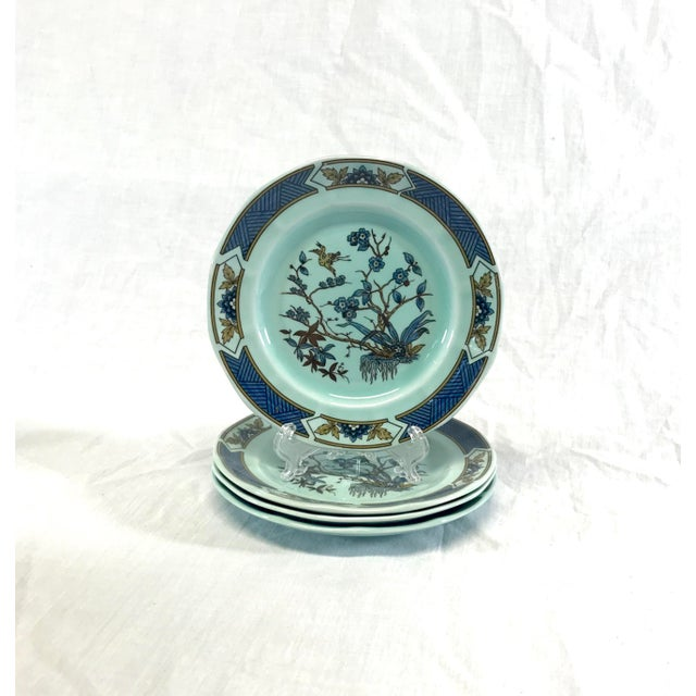 Wedgwood Ironstone Ming Toi Dinnerware, Set of 12 For Sale In Raleigh - Image 6 of 8