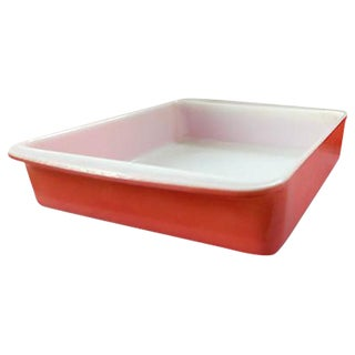 Pink Pyrex - Pair For Sale