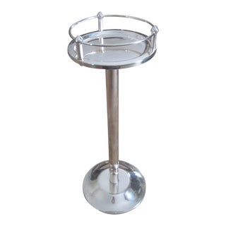 Vintage Christofle Silver Plate Wine-Ice Bucket Stands For Sale