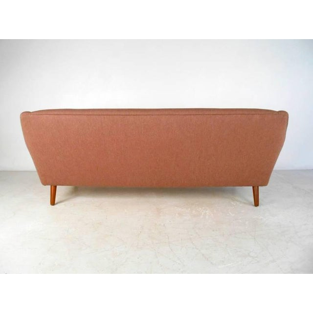 Danish Modern Mid-Century Modern Sofa in the Style of Kai Kristiansen For Sale - Image 3 of 11