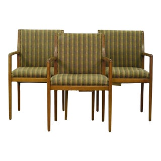 Bernhardt Mid Century Office Chairs- Set of 3 For Sale