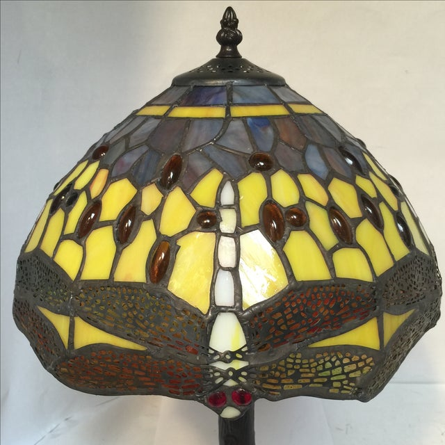 Medium Dragonfly Lamp For Sale In Sacramento - Image 6 of 8
