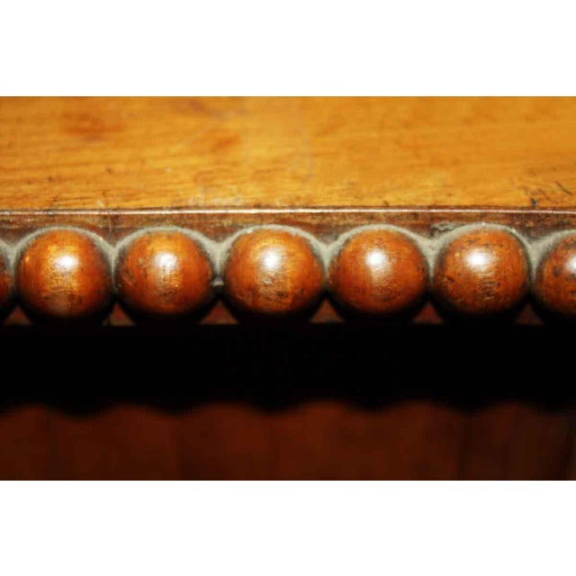 Traditional Early 1800s Cherry Chest With Serpentine Front For Sale - Image 3 of 4