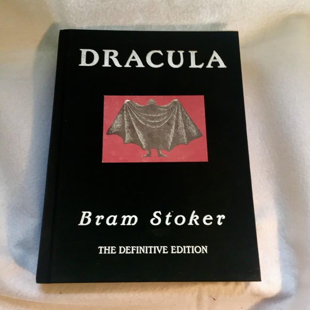 This 1996 edition of Dracula by Bram Stoker -- The Definitive Edition is a deluxe limited edition, out of print book. The...
