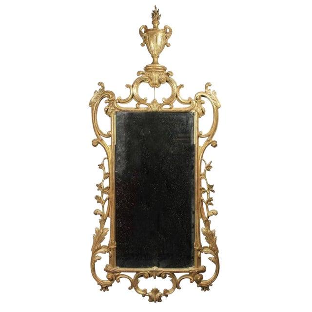 George III Giltwood Mirror For Sale