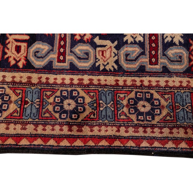 """Vintage North West Persian Rug, 4'7"""" X 10'1"""" For Sale In New York - Image 6 of 9"""