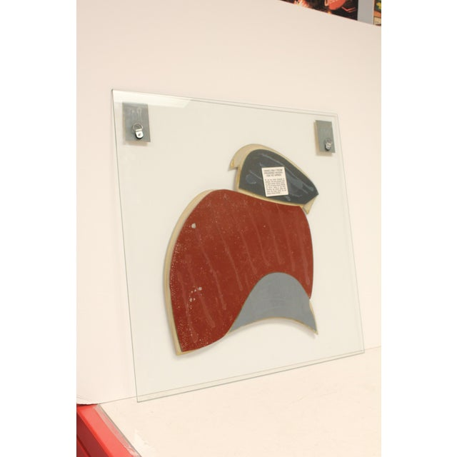 1980s Modern Wall Sculpture by David Marshall For Sale - Image 5 of 7