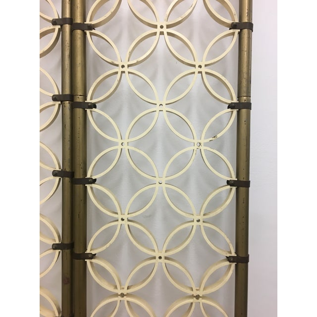 Hollywood Regency Mid-Century Modern Room Divider Panels - a Pair For Sale - Image 3 of 13