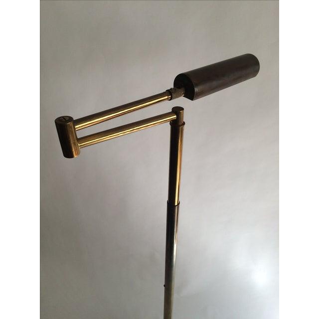 Koch + Lowy Brass Floor Lamp - Image 8 of 9