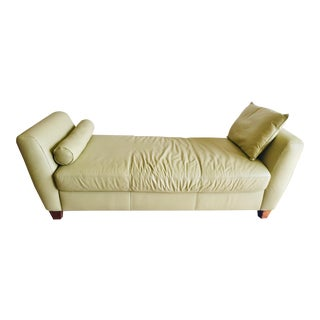 Modern Green Daybed Settee For Sale