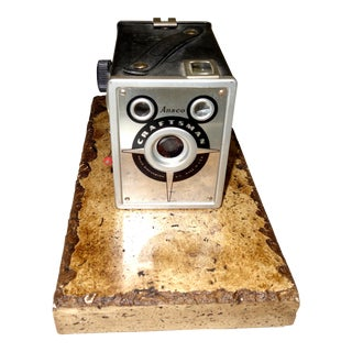 Ansco Craftsman Roll Film Still Camera Circa 1950. Rare and Pristine For Sale