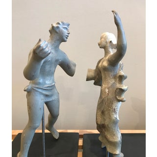 1930s Works Progress AdministrationTreasure Island Romanesque Style Plaster Figure Sculptures Study Preview