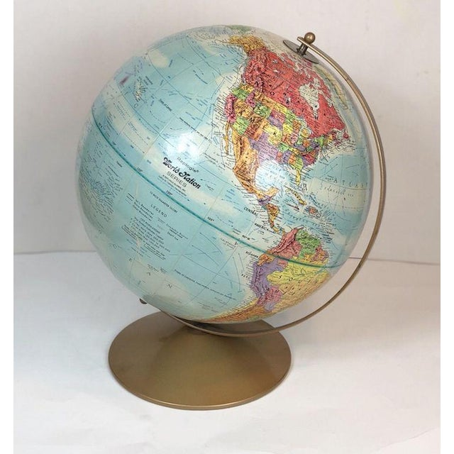 Vintage Replogle World Nations Series Globe For Sale In Boston - Image 6 of 11