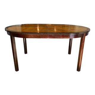 Race T-Track Oval Extension Dining Table For Sale