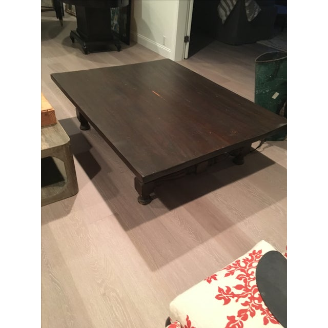 Low Spindle Leg Coffee Table - Image 2 of 6