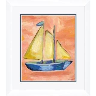 """Norton Sail"" By Dana Gibson, Framed Art Print For Sale"