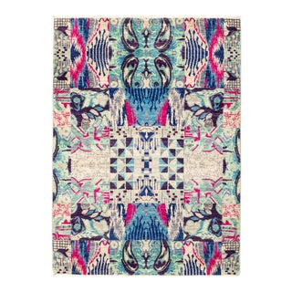"""Hand Knotted Suzani Area Rug - 4' 4"""" X 5' 10"""""""