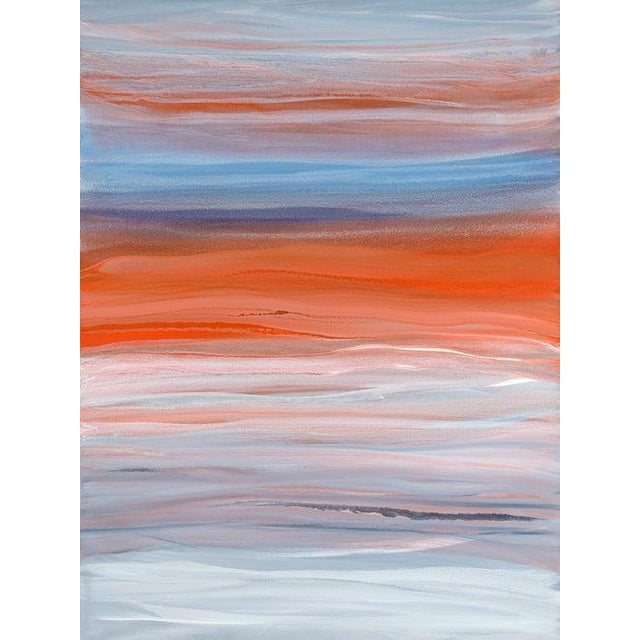 2010s Teodora Guererra, 'Orangsicle' Painting, 2018 For Sale - Image 5 of 5