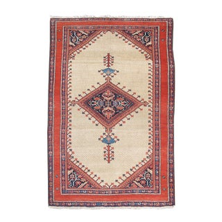 Central Persian Classic Fereghan Rug - 4′6″ × 6′6″ For Sale