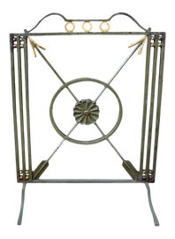 Image of Art Deco Fireplace Accessories