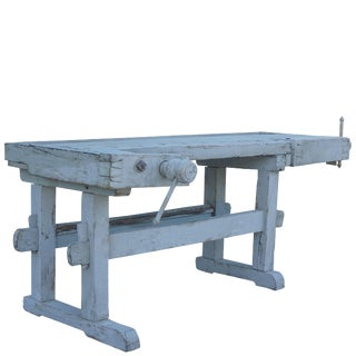 19th Century Industrial Vintage Plane Bench For Sale