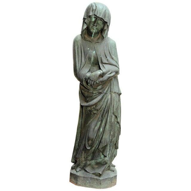 Bronze Female Statue For Sale - Image 13 of 13