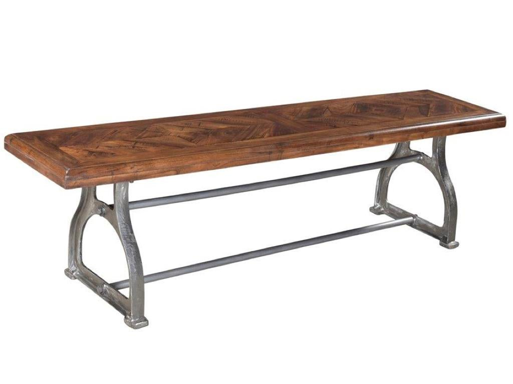 Industrial Singer Industrial Dining Bench For Sale   Image 3 Of 4