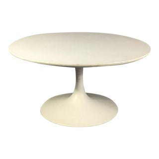 1970s Mid-Century Modern Tulip Base Coffee Table For Sale