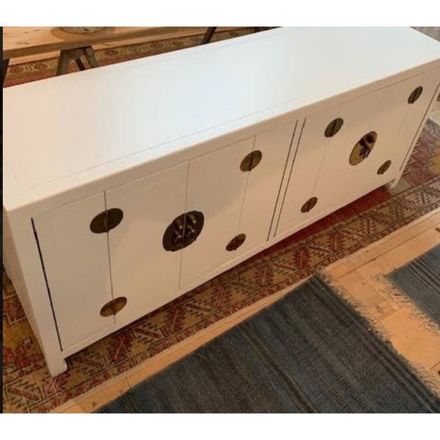 Henredon Mid-Century Modern 1960s Henredon Ming Console For Sale - Image 4 of 13